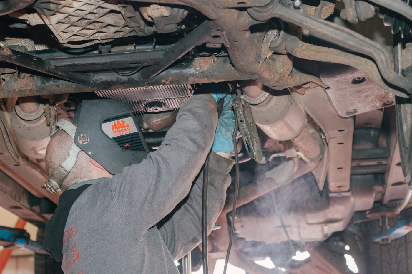 Diesel car repair